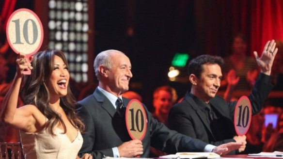 Dancing with the stars judges photo