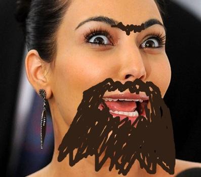 Kim-Kardashian-Crazy-Face