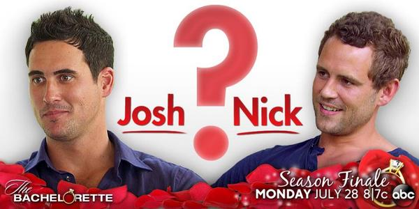 Nick vs Josh Bachelorette